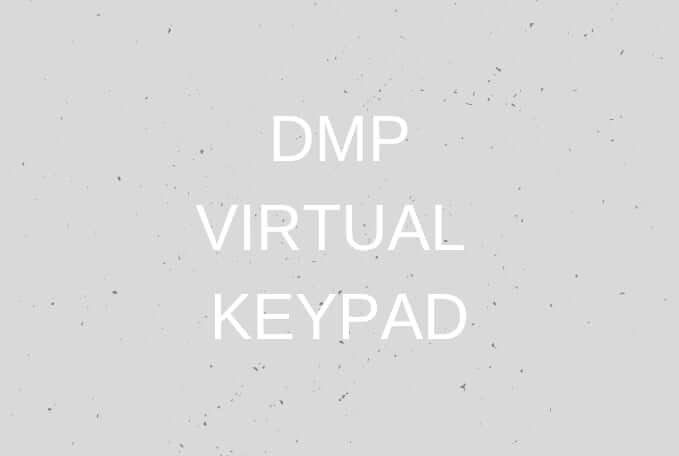 DMP Virtual Keypad
